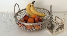 WOVEN METAL FRUIT BASKET.......$8 Robina Gold Coast South Preview