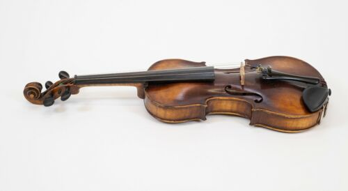 ANTIQUE FRIEDRICH AUGUST GLASS VIOLIN INSTRUMENT - MARKED 1797 - GERMANY