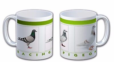 Personalised  Racing  Pigeon Bird Mug Cup. Personalise With Name & Text IL-2061