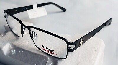 iStamp Xp 617m Men's  Eyeglass Frames Prescription Optical Black  (Men's Optical Frames)