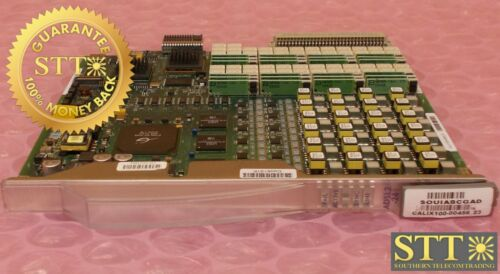 100-00456 Calix Rev-23 C7 24-port Adsl2 Card Souiabcgad