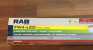 RAB LED Shop Light - 80w - Wet and Damp Locations