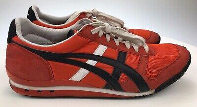 Men's 10.5 - Asics Onitsuka Tiger Ultimate 81 Sneaker Red Retro Vintage Style