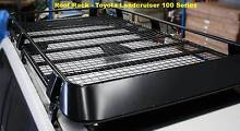 Steel Roof Rack FULL LENGTH FULLY ENCLOSED suit LANDCRUISER 100 Malaga Swan Area Preview