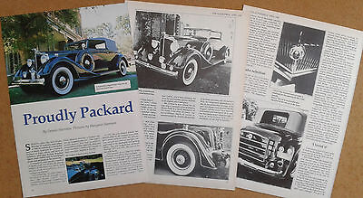 Packard 1101 Dietrich convertible Victoria Eight from 1934