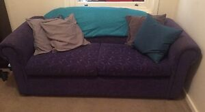 Fold-out sofa bed + cushions, mattress and rug Park Holme Marion Area Preview