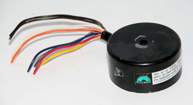Plitron toroidal Transformer 7609-X0-02 2x115V input p/n 2629800097