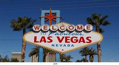 Welcome to Las Vegas, Stadt in Nevada, Bild auf Leinwand, 40x80 cm / 2173