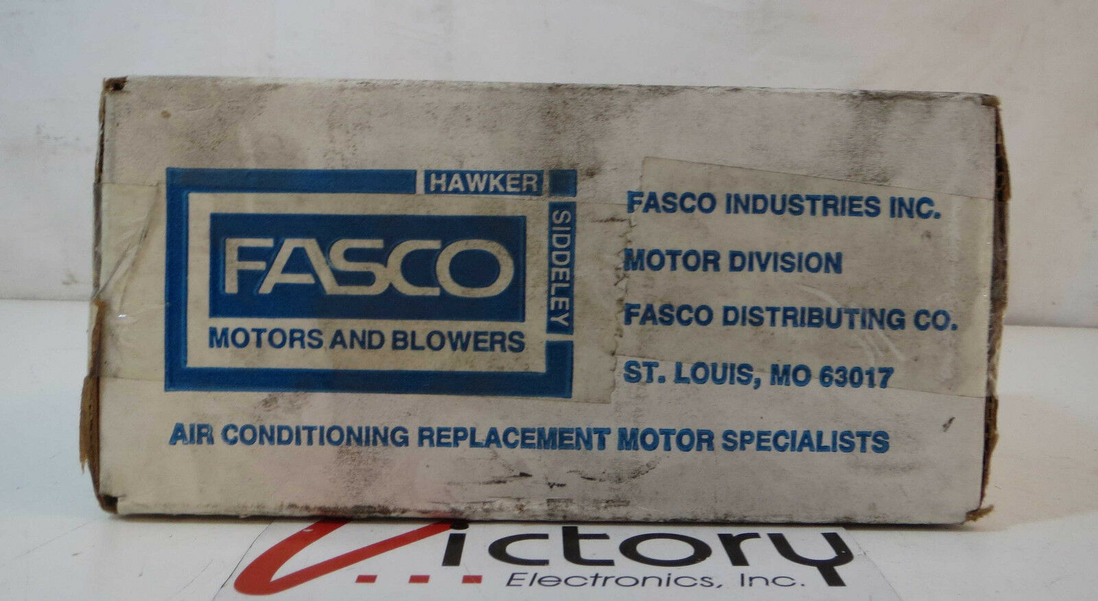 NEW FASCO SHADED Pole Electric Motor, Model: D476, 1/35 HP, .75 Amps ...