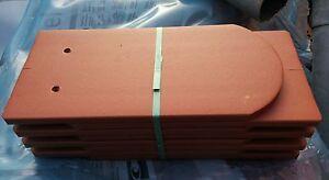 Biber Biberschwanz Dachziegel naturrot neu 8 Stück Pack,  Versand kostenlos