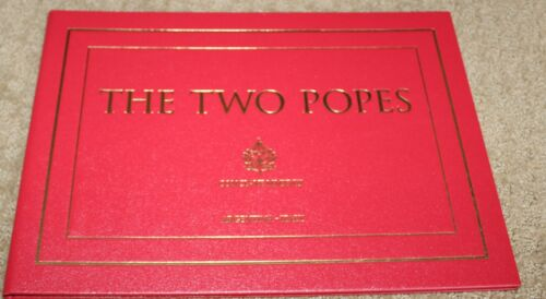 THE TWO POPES FOR YOUR CONSIDERATION AUTOGRAPHED SIGNED CONCLAVE PRESS BOOK