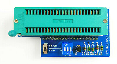 27c322 27c160 27c800 27c400 Adapter For Tl866 Minipro Eprom Programmer