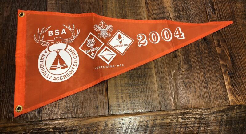 Boy Scout National Camp Accredited Banner 2004