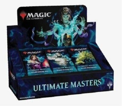 ***1x Sealed Ultimate Masters Booster Box (with box topper)*** MTG -Kid Icarus-