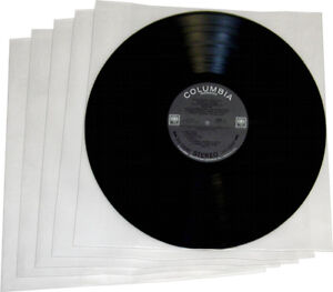 100-12IH03-12-Record-Album-Vinyl-THICK-Plastic-INNER-Sleeves-High-Density-LP