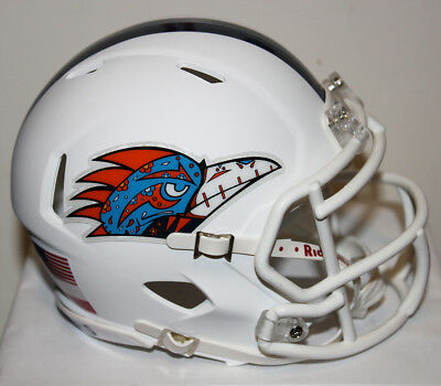 2018 UTSA Roadrunners Fiesta Bird Custom Riddell Mini Helmet - Spring Game