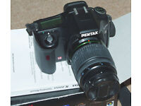Pentax K200d DSLR with 50-200mm Lens