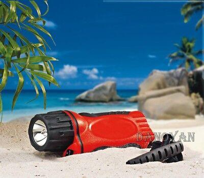 Tauchlampe Taucherlampe Outdoorlampe Haloge 6Watt 10 bar Druckdicht+Handschlaufe