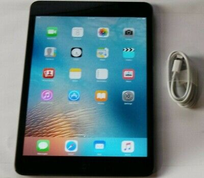 """Apple iPad mini 1st Generation 7.9"""" 16GB, Wi-Fi Tablet  - Black - Works Great"""
