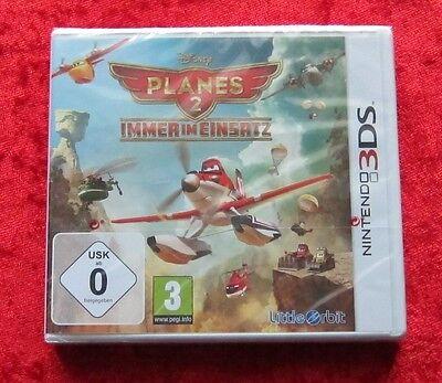 Planes 2 Immer im Einsatz Disney, Nintendo 3DS Spiel, 3D, Neu, deutsche Version