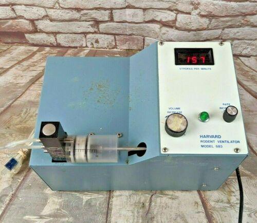 Harvard Apparatus Model 683 Rodent Ventilator Lab Equipment Tested Works