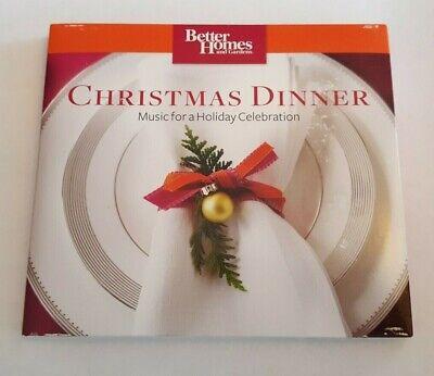 Christmas Dinner Better Homes & Gardens (CD, 2008 Somerset) Instrumental (Best Instrumental Christmas Music)