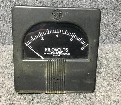 Rca Panel Meter Dc Kilovolts