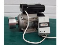 1 hp Single Phase Induction Motor with DOL Starter
