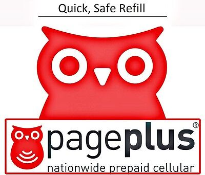 Pageplus  10 Refill    100 Minutes   120 Days  Fast   Right