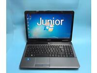 Acer Fast HD Laptop, 320GB, 3GB Ram, Window 7, Microsoft office, Very Good Condition, Antivirus