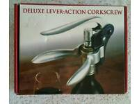 Deluxe Lever-action Corkscrew - New