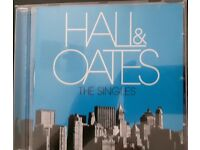 HALL AND OATES THE SINGLES CD NEW