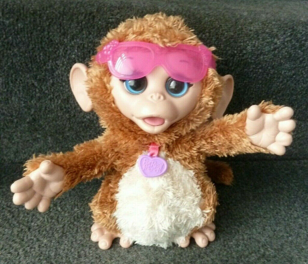 Hasbro Fur Real Friends - Happy to see Me Cuddles Monkey with Sounds &  Movement! | in Sarisbury Green, Hampshire | Gumtree