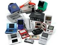 WANTED RETRO GAMING CONSOLES & GAMES NIGHT NINTENDO SONY ECT