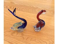 VINTAGE GLASS PAPERWEIGHTS