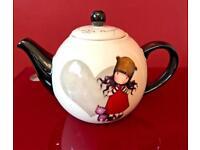 New Santoro Gorjuss Teapot - Perfect Love Design.