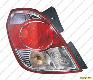 Tail Lamp Driver Side Red Line Mdl High Quality Saturn Vue 2008-2009