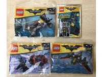 LEGO THE BATMAN MOVIE Polybag Job Lot