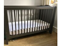 Baby cot bed 120X60 cm ( excellent condition ) Made in France