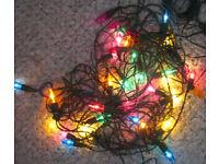Outdoor Christmas Lights, set of 40 and other Christmas bits, £1 - £10.