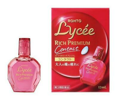 ROHTO Lycee Rich Premium Contact Eye Drop 13ml Best prescription Lycée (Best Eye Drops Japan)
