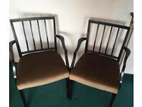 3 wooden chairs- Free to collect