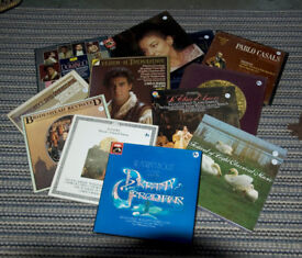 Hi-Fi Music. Large collection of classical and various LPs