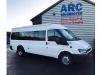 Ford Transit 17 Seater Minibus - LOW MILES - NO VAT - 11 Month MOT
