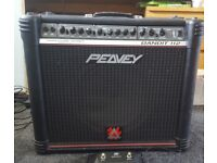 Peavey Bandit 112 redstripe with original foot pedal excellent condition