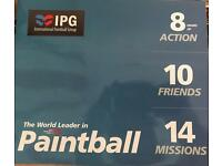 IPG Paint-balling Tickets