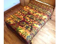 Indian Tree of Life Bedspread Tapestry Throw Wall Hanging