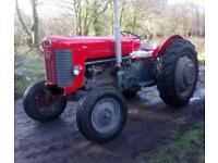 Massey Ferguson 65 Mk ll Classic Tractor