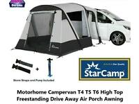 Dorema Starcamp Quick N Easy 265 Mha High Top Air Motorhome Drive Away awning