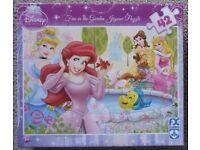 "Disney Princess ""Fun in the Garden"" Jigsaw Puzzle – 3 to 7 years & upwards - £5 o.n.o"